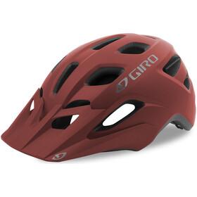 Giro Fixture Kask rowerowy, matte dark red